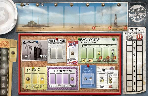 The Manhattan Project gameboard