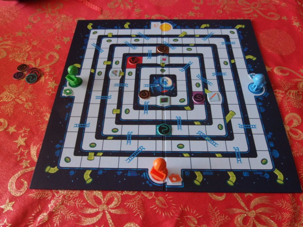 Mole Rats in Space gameboard